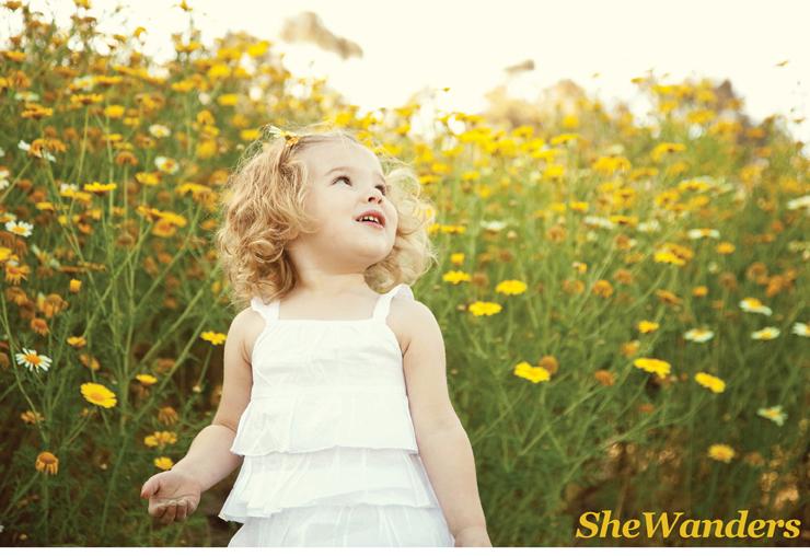 ella in flowers, San Diego Wedding Photography, SheWanders Wedding Photography