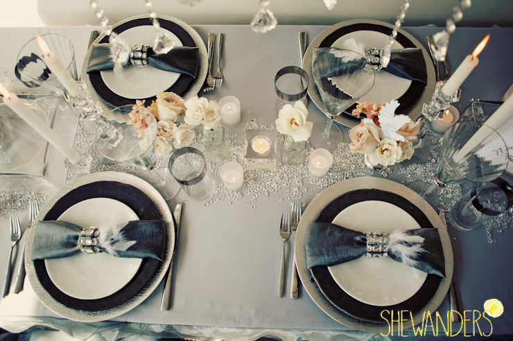 fancy tablescape, wedding chicks feature, san diego wedding photography