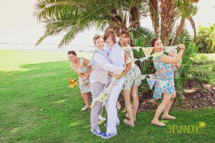 san diego wedding photography, shewanders photography, same sex san diego wedding photography