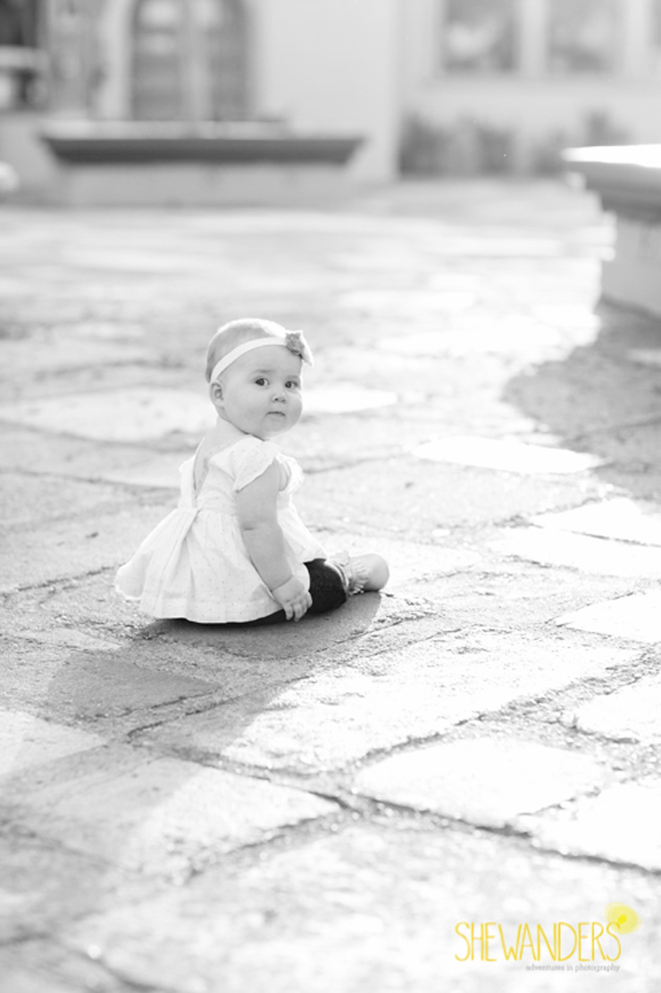 shewanders shewanders photography family baby girl black and white