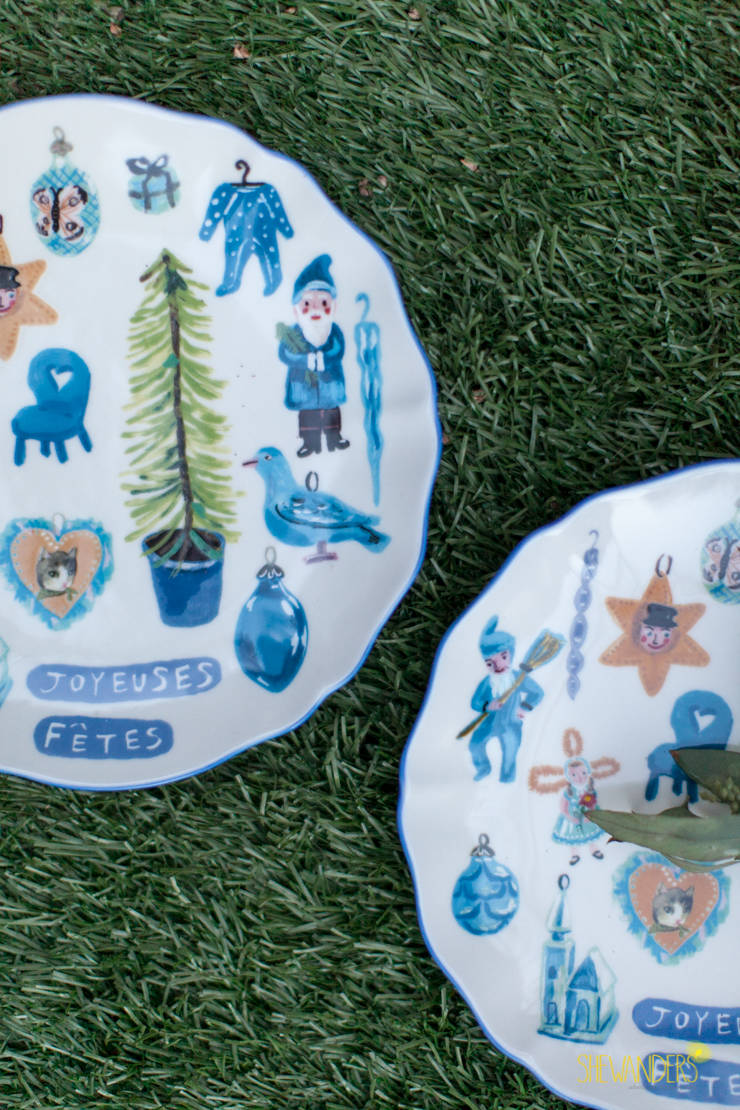 anthropologie plates, shewanders photography, engagement photography san diego