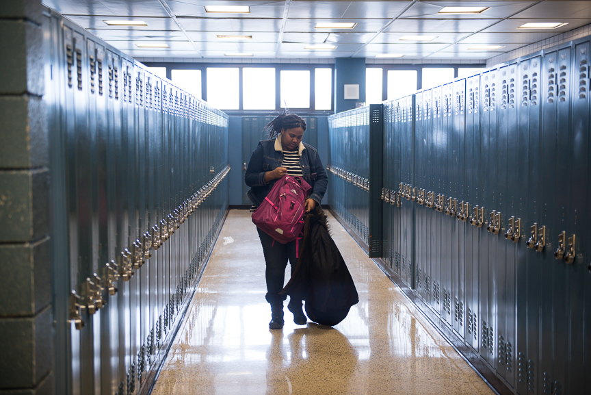 Even after losing her mother and becoming homeless, Monet Spencer continued to make it to classes at Brashear High School. She was recently accepted to Carlow University.