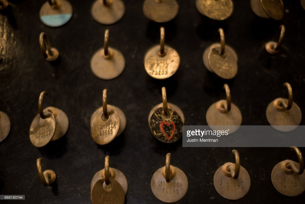 SYCAMORE, PA - APRIL 13: Miner's tags hang on a board at the Harvey Mine on April 13, 2017 in Sycamore, Pennsylvania. The Harvey Mine, owned by CNX Coal Resources, is part of the largest underground mining complex in the United States. Environmental Protection Agency Administrator Scott Pruitt visited the mine on Thursday and spoke with miners. (Photo by Justin Merriman/Getty Images)