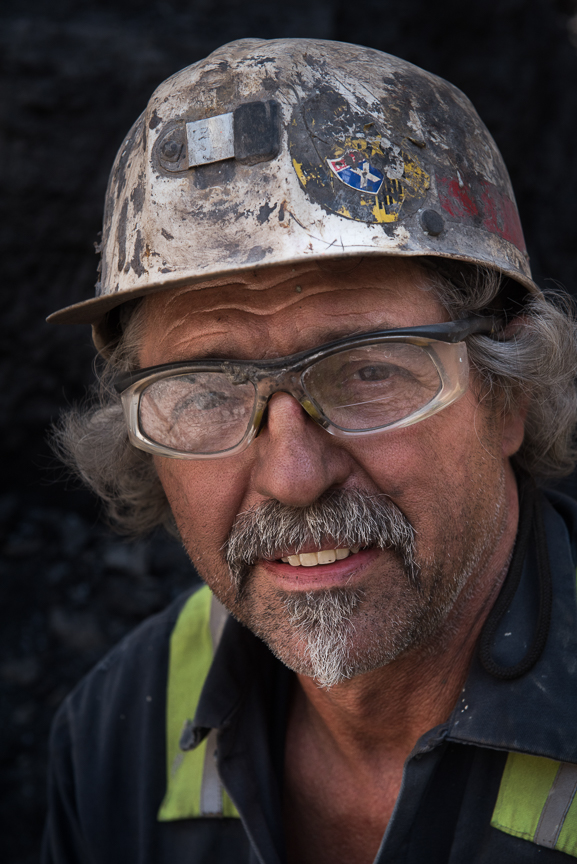 Coal Miner Russ Lambert, 61, of Berlin, Pa., who has been mining for over 37 years, poses for a portrait on May 18, 2017 in Friedens, Somerset, Pa. Lambert, a shift foreman, who previously has been mining in Corsa's Quecreek Mine will be working in Corsa's new mine, the Acosta Deep Mine. Justin Merriman for The Wall Street Journal