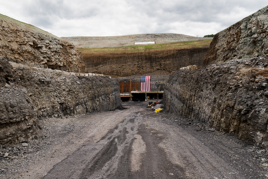 The entrance to the Corsa Coal's Acosta Deep Mine on June 8, 2017 in Friedens, Pennsylvania. Justin Merriman/Getty Images