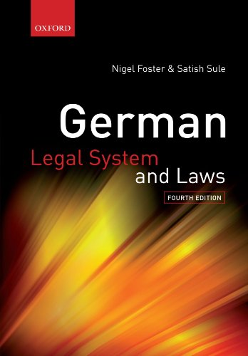 Big book of German laws.