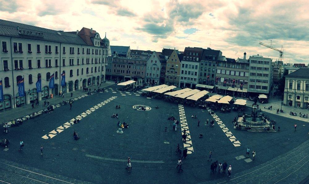 Rathausplatz, Augsburg