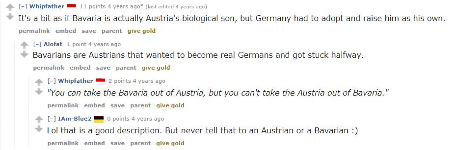 Typical Feelings on Bavaria