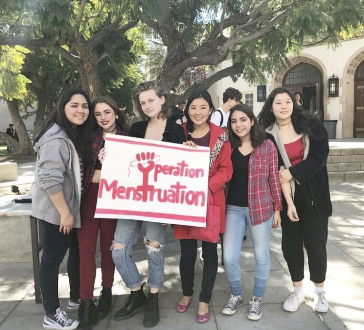 Operation Menstruation at the International Women's Day Fundraiser    Photo by: Operation Menstruation