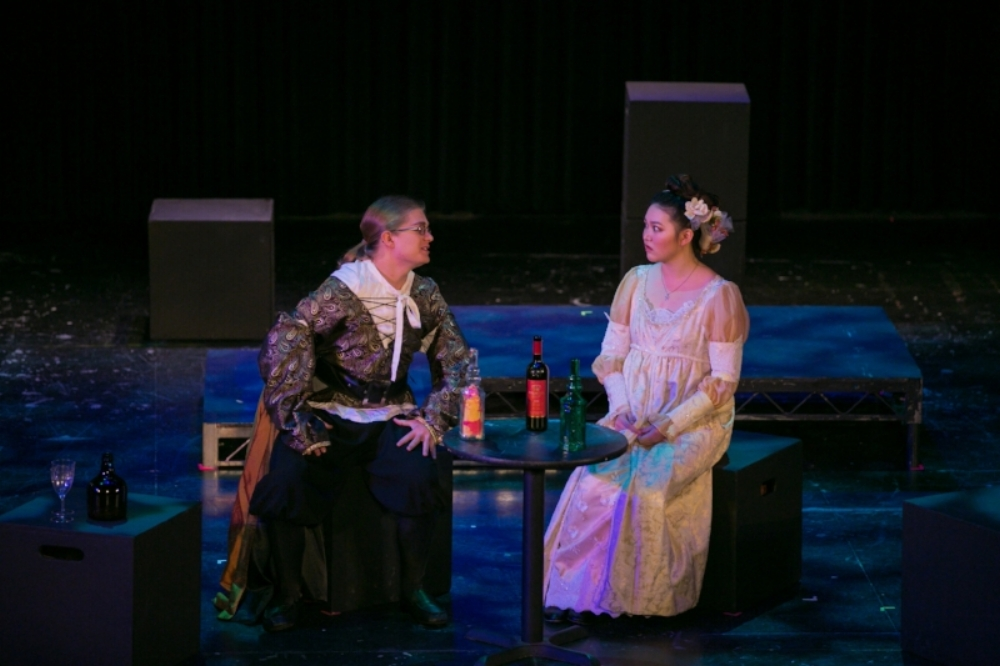 "Boyer and Park perform ""Duet: la ci darem.""    Photo courtesy of: Cheryl Walsh"