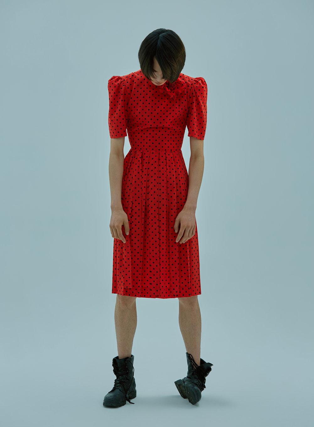 Dress: Push Button  Walker: Stylist's Own