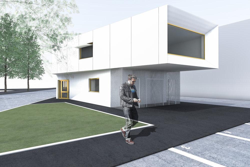 Rénovation Et Extension De Bureaux Skarbek Architectes