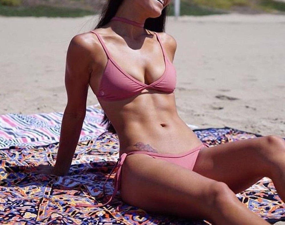 Nicole Top // Jackie Bottom // Blush Mauve