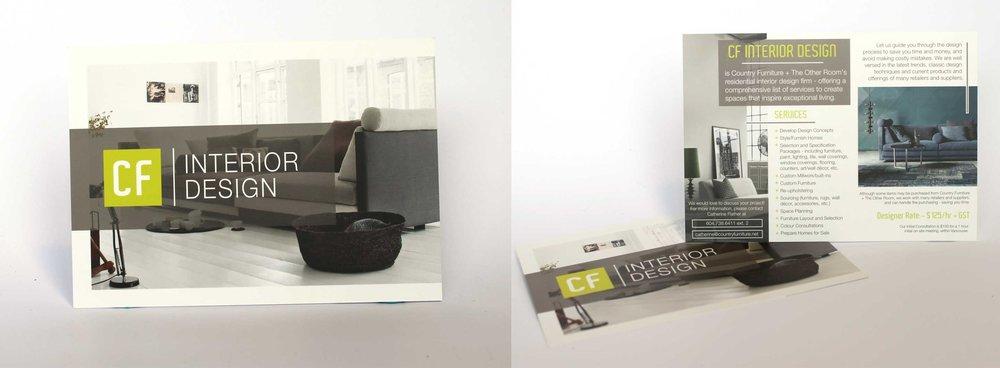 Country Furniture Interior Design  Postcard