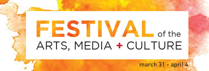 Trinity Western University  Festival of the Arts, Media, and Culture  Website Graphic - Concept 1