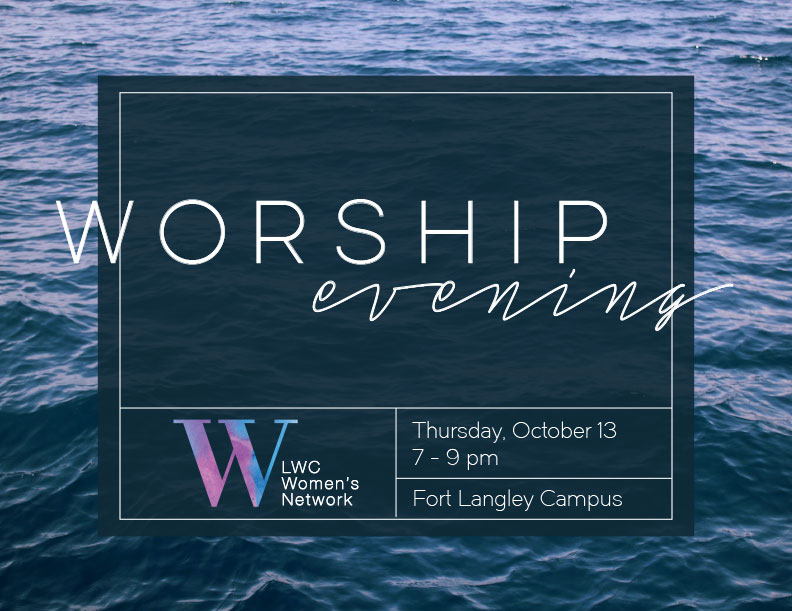 Living Waters Church, Fort Langley  Event Promotional Materials