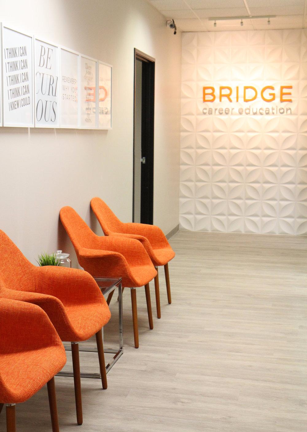 Bridge Career Education San Diego College Reception Medical