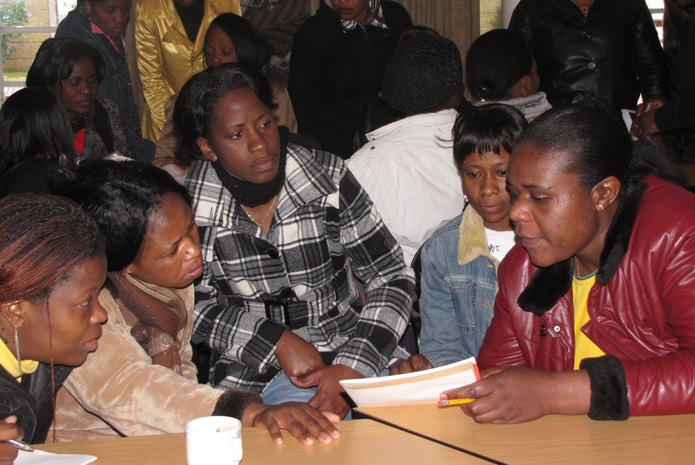 SA (refugees) - Trg zimbabwean refugees in social enterprise @ CapeTown LEAP school2.jpg
