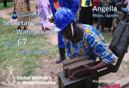 A retired nurse and former refugee, at 67 Angella became secretary of her local water board. Read more about Angella's story   here.