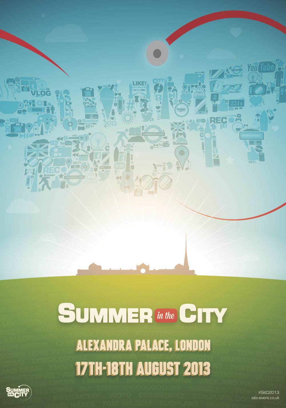 2013 poster design