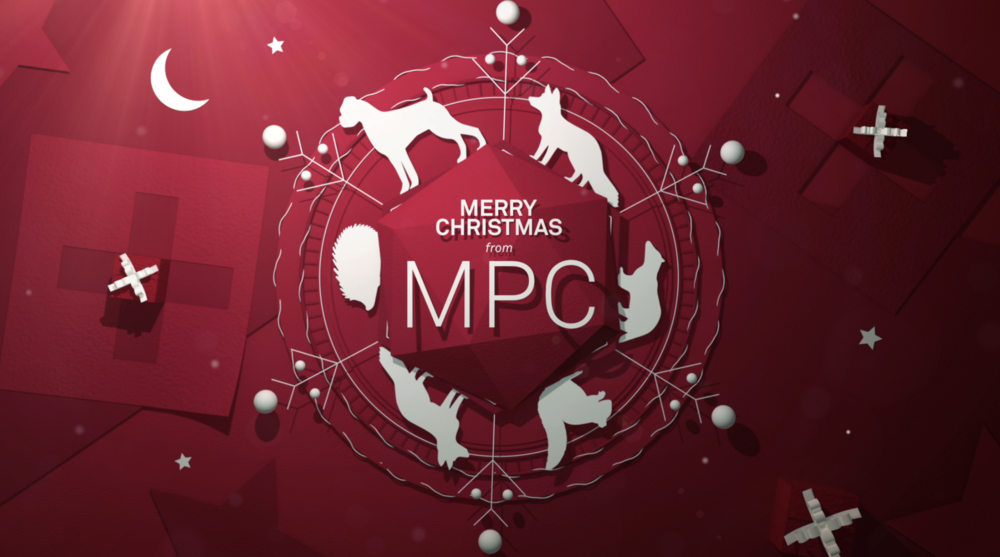A paper craft style Christmas ident for MPC