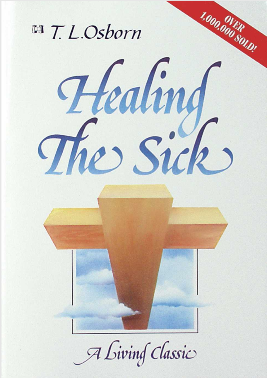"T.L. Osborn begins his book by stating one simple fact: ""If you are sick, God wants to heal you."" Throughout his ministry, Dr. Osborn has personally witnessed the miraculous healing of multitudes of people. Healing The Sick is one of the foremost authoritative teachings on divine healing."