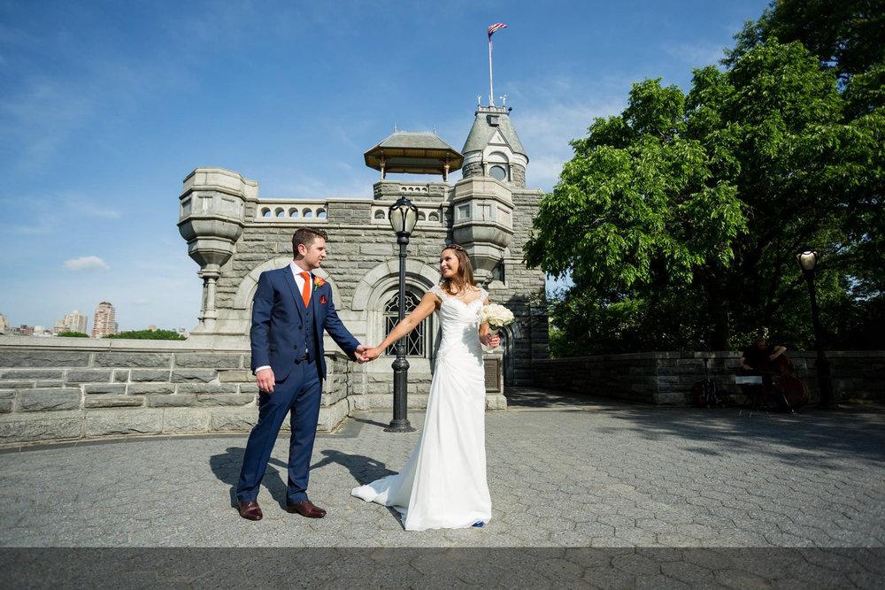 Central Park   Belvedere Castle Terrace