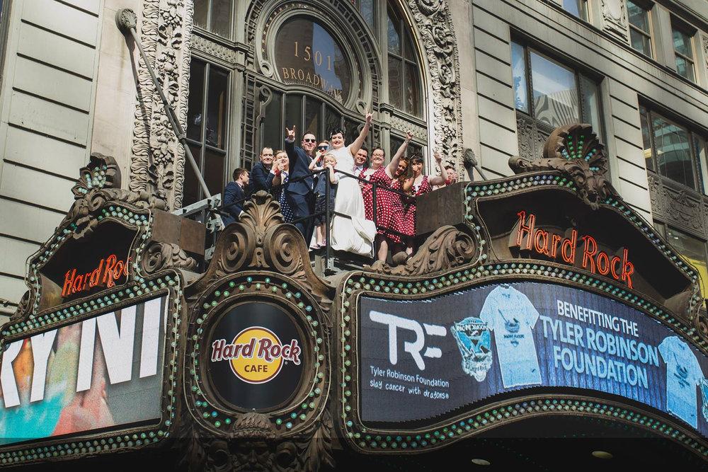 Times Square   Hard Rock Café Marquis