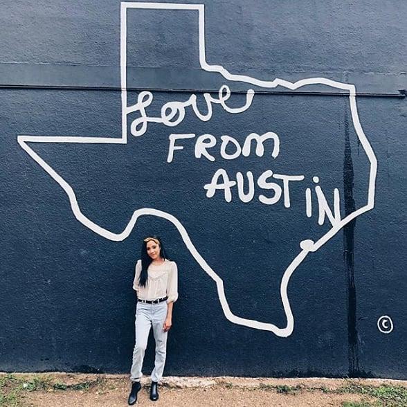 Love from Austin. ❤️ (pc: @hillea)