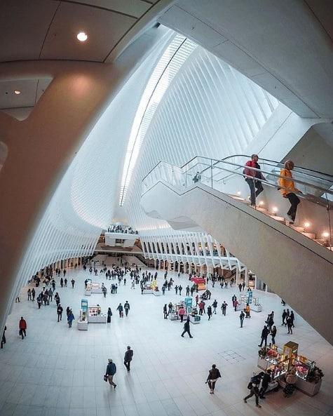 Calatrava's Ny station. 🕊 (pc: @alexcasabo)