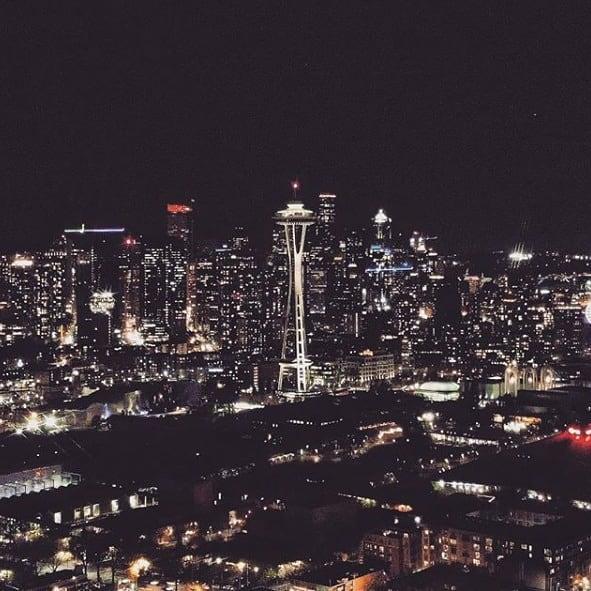 That Seattle skyline. 😍 (pc:@pascalprl)