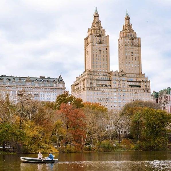 Those Central Park views. 🍂😍 (@saint.mccloud)