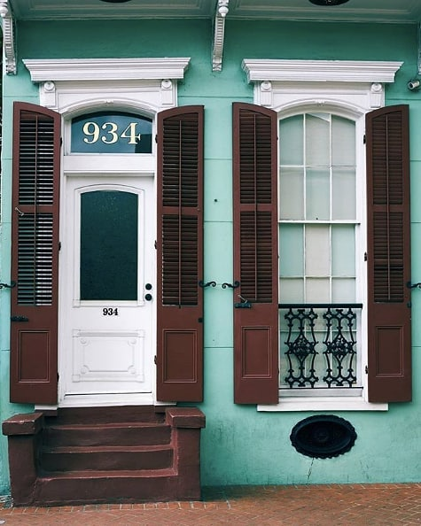 How cute this is New Orleans architecture? 😍 (pc: @smellslikesammi)