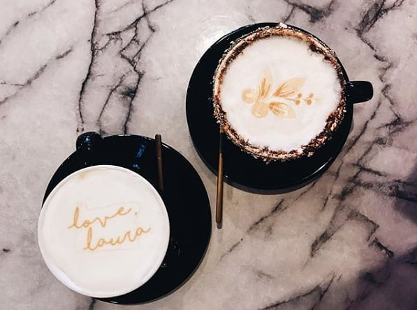 Satisfying our coffee craving. ☕️☕️ (pc: @xodearjune)