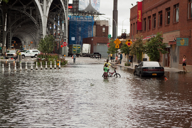 harlem flood hurricane irene sea level rise