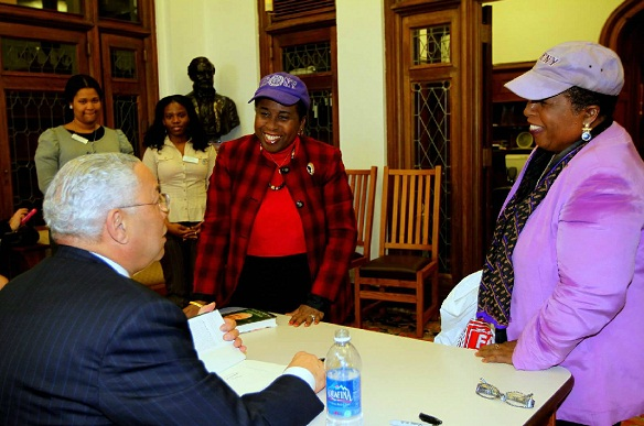 colin powell it worked for me book signing ccny