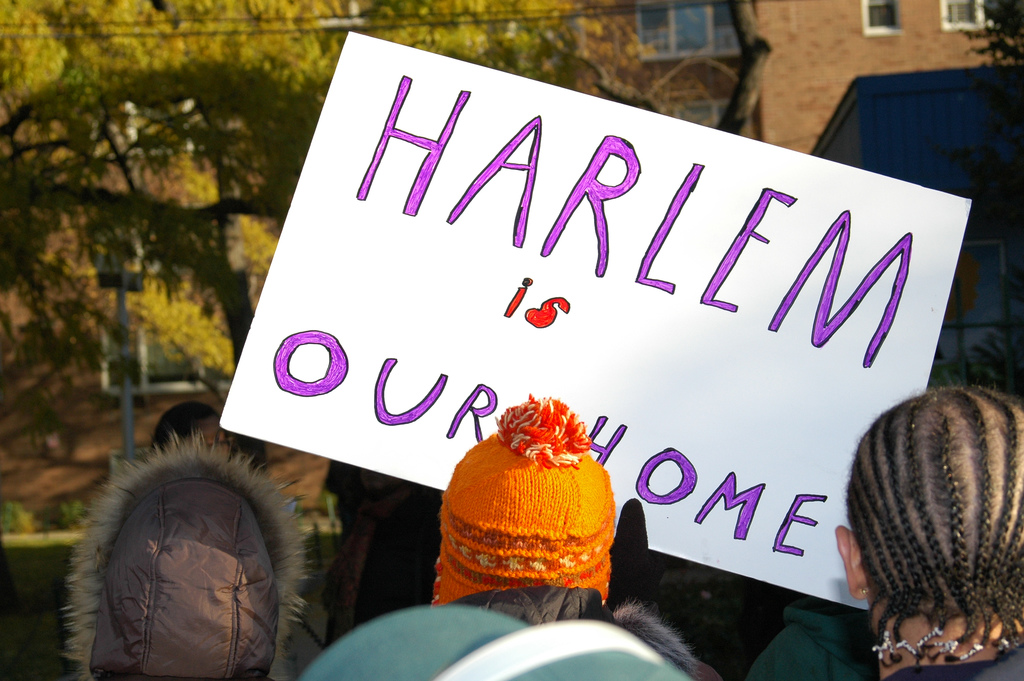 Harlem is our Home, from Flicker by Jarito by Creative Commons permission.