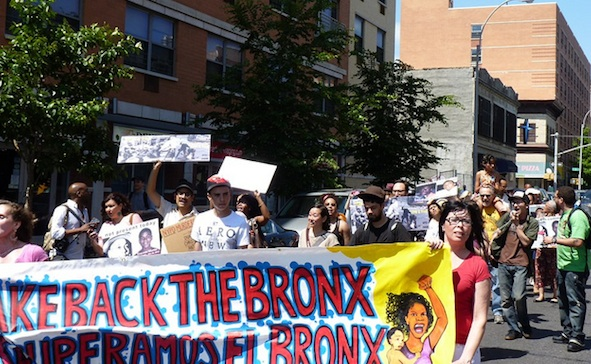 Mother's Day march in the Bronx. Photo by Carwill. Courtesy Creative Commons