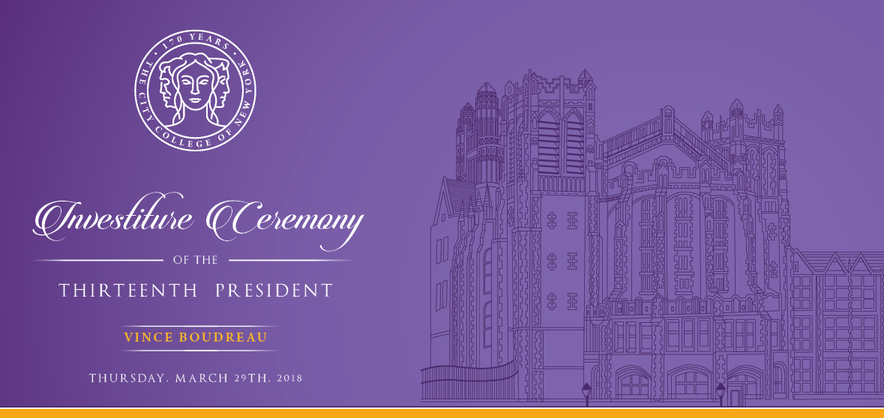 President Boudreau's Investiture Ceremony