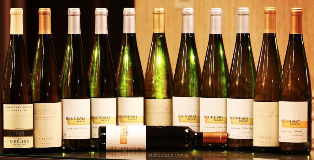 Boundary Breaks - Boundary Breaks seems to have come out of nowhere, with three main riesling variants, all of them wonderful.