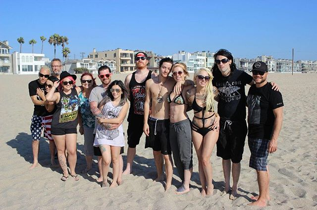 What an amazing day at the beach yesterday! Xoxo love all you guys!