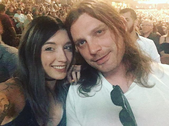 Me and my baby at a #Garthbrooks #concert xoxo. 😘😘😘