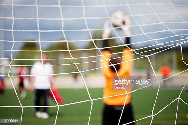 GOAL KEEPING - Goalkeeping requires skills and training that often don't get the time and attention in a team setting. Schedule with one of our keeper coaches to work on position specific training to excel in this position.