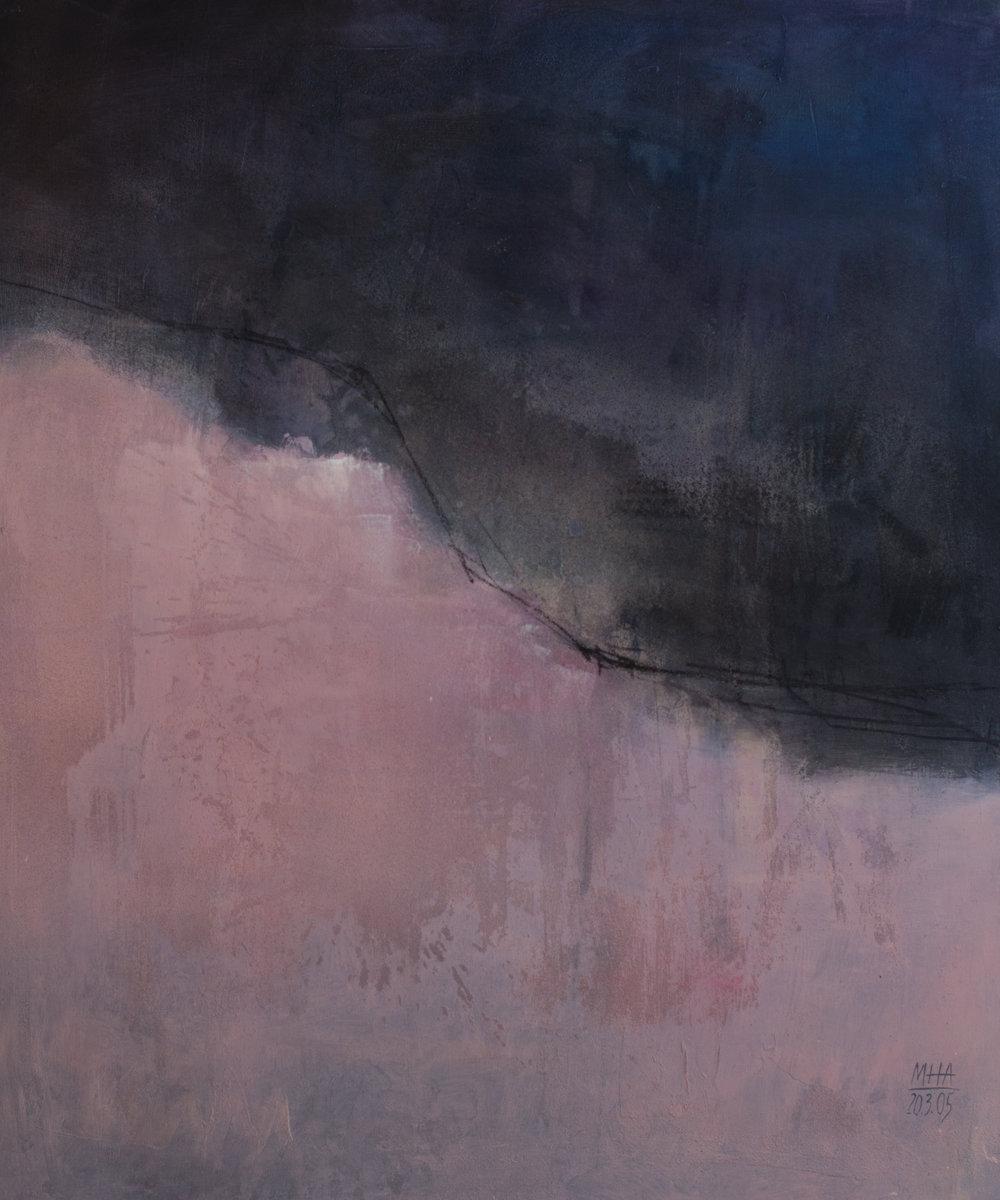 Paula , 2005,Acryl auf Leinwand - Mischtechnik, 100x120 cm