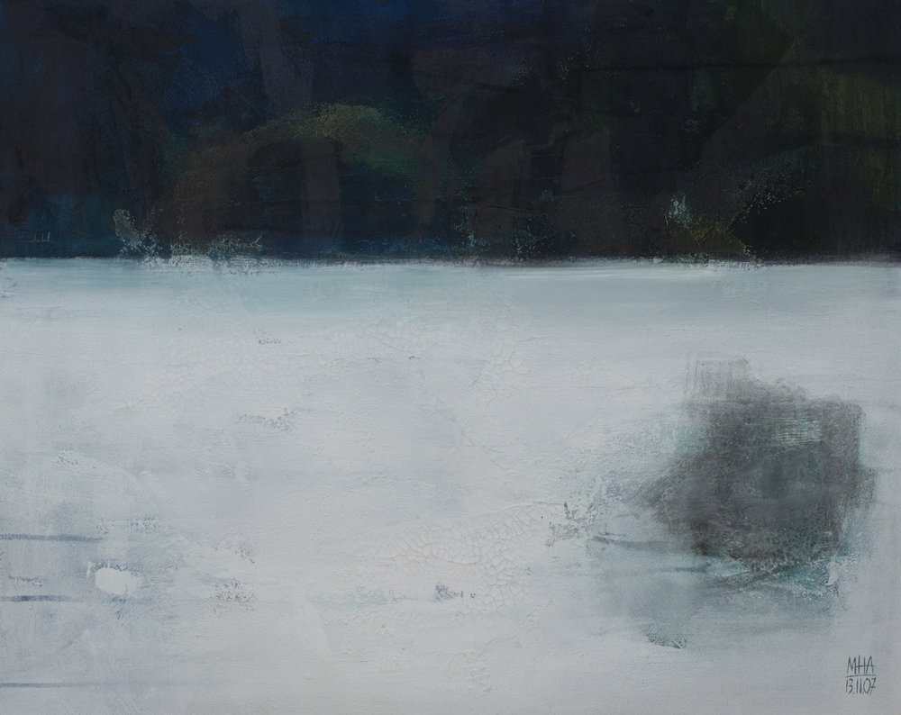 Freiheit , 2007,Acryl auf Leinwand, 80x100 cm