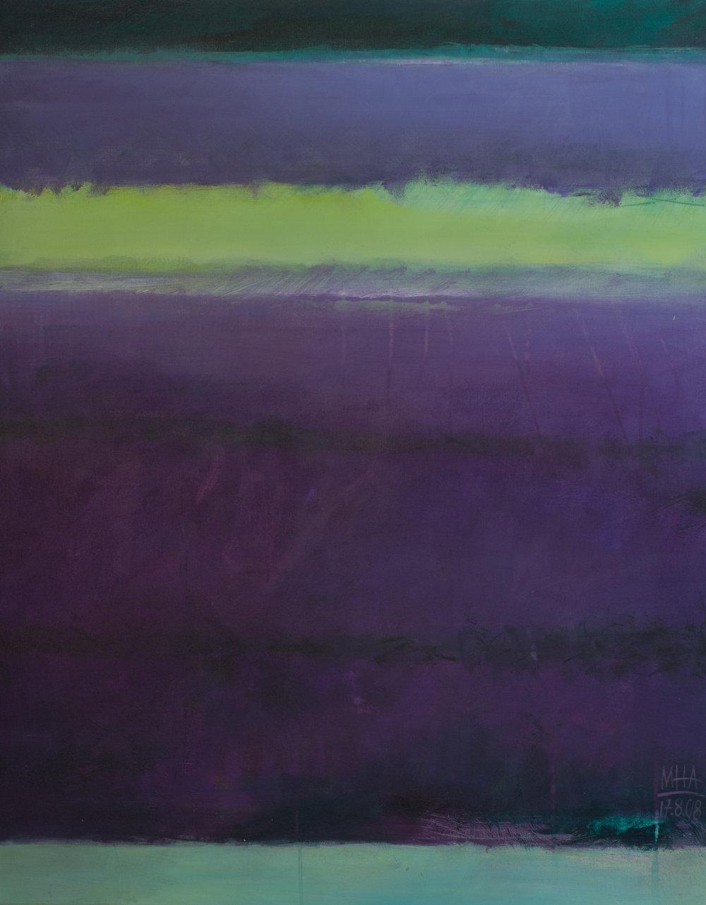 Farben der Provence , 2008,Acryl auf Leinwand, 80x100 cm