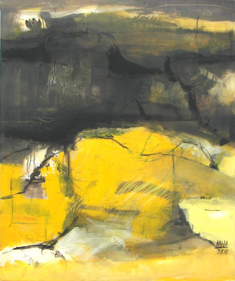 Körperlandschaft, 50x60, 2002