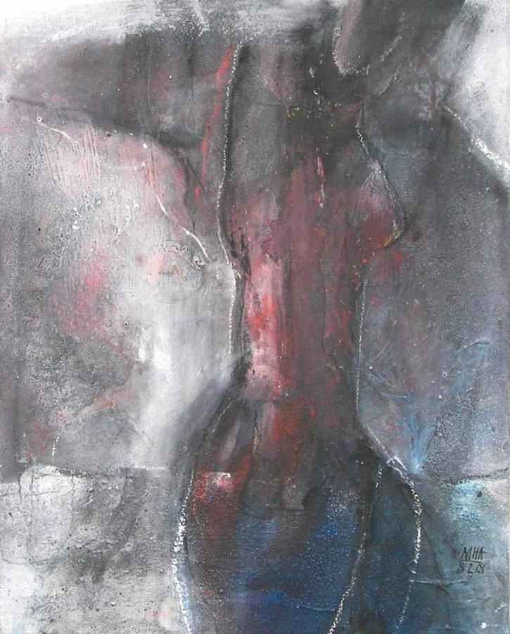 versteinert, 40x50, 2001