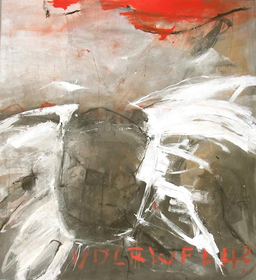Rotraud, 100x110, 2003