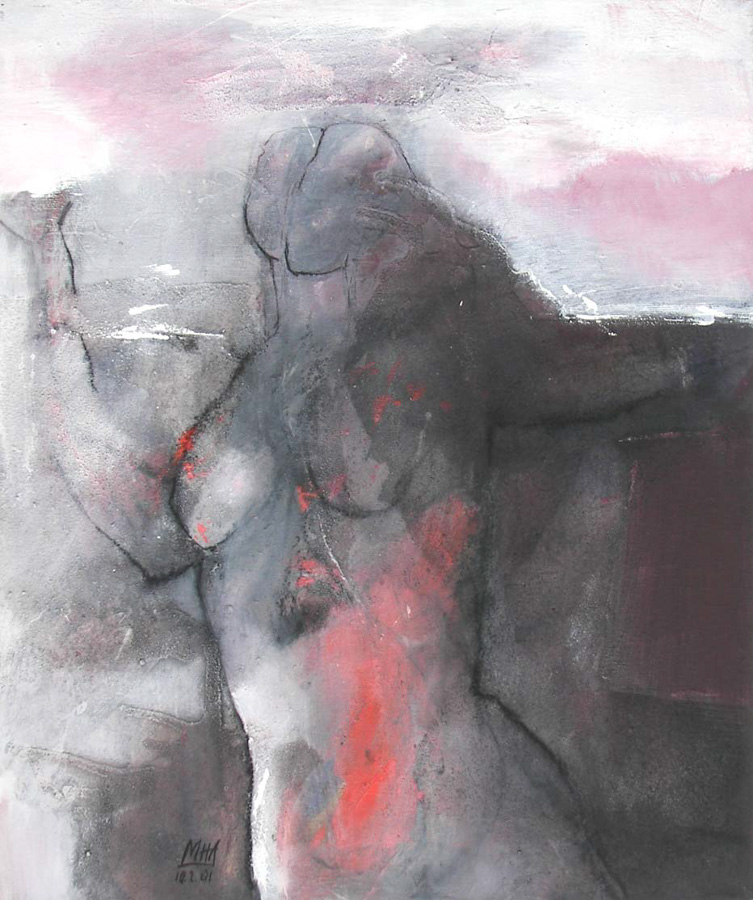 Schwebend, 50x60, 2001
